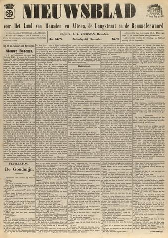 Nieuwsblad het land van Heusden en Altena de Langstraat en de Bommelerwaard 1915-11-20