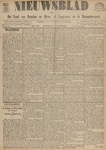 Nieuwsblad het land van Heusden en Altena de Langstraat en de Bommelerwaard 1897-01-27