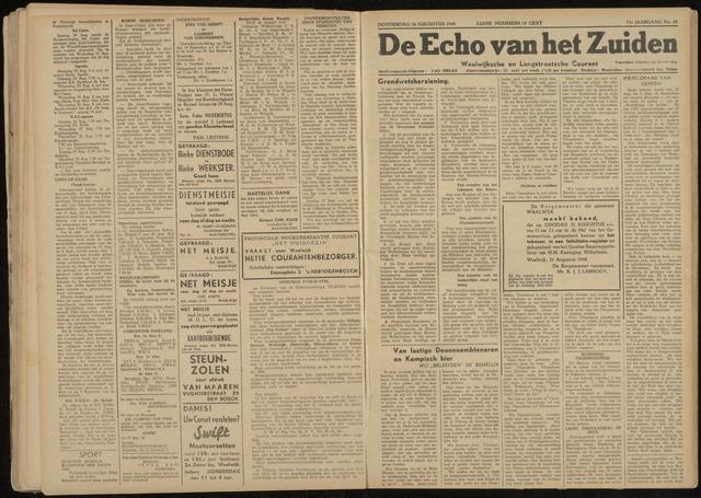 Echo van het Zuiden 1948-08-26