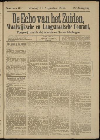 Echo van het Zuiden 1895-08-11
