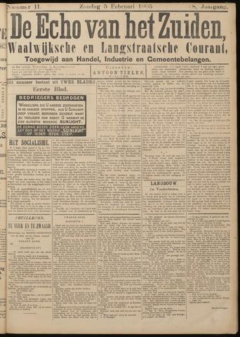 Echo van het Zuiden 1905-02-05