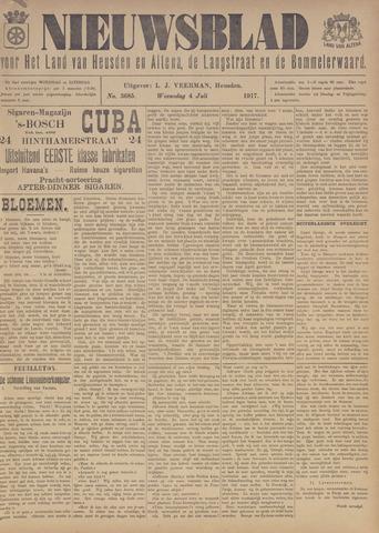 Nieuwsblad het land van Heusden en Altena de Langstraat en de Bommelerwaard 1917-07-04