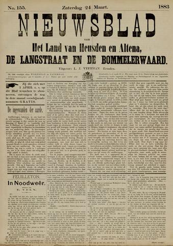 Nieuwsblad het land van Heusden en Altena de Langstraat en de Bommelerwaard 1883-03-24