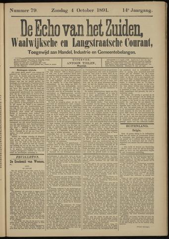 Echo van het Zuiden 1891-10-04