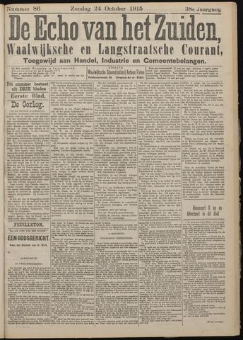 Echo van het Zuiden 1915-10-24