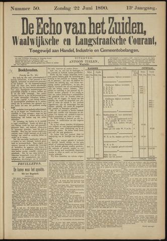 Echo van het Zuiden 1890-06-22