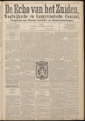 Echo van het Zuiden 1934-01-24