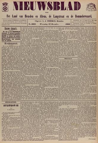 Nieuwsblad het land van Heusden en Altena de Langstraat en de Bommelerwaard 1909-12-15