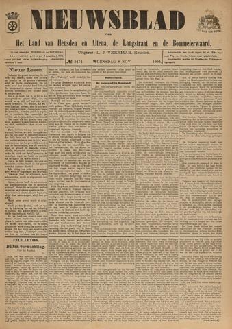 Nieuwsblad het land van Heusden en Altena de Langstraat en de Bommelerwaard 1905-11-08