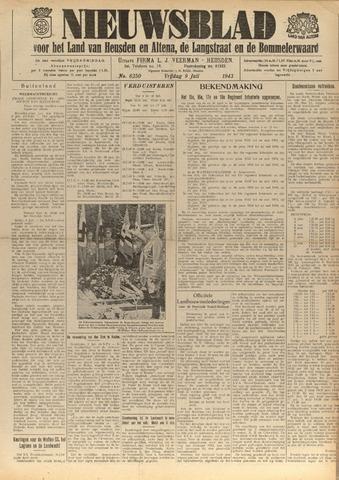 Nieuwsblad het land van Heusden en Altena de Langstraat en de Bommelerwaard 1943-07-09