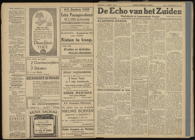 Echo van het Zuiden 1947-04-08