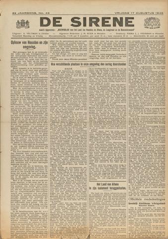De Sirene 1945-08-17