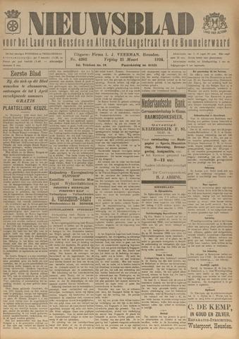 Nieuwsblad het land van Heusden en Altena de Langstraat en de Bommelerwaard 1924-03-21