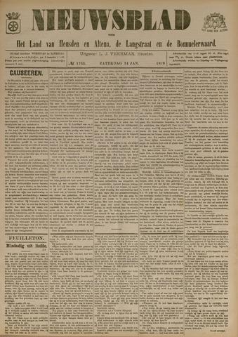 Nieuwsblad het land van Heusden en Altena de Langstraat en de Bommelerwaard 1899-01-14