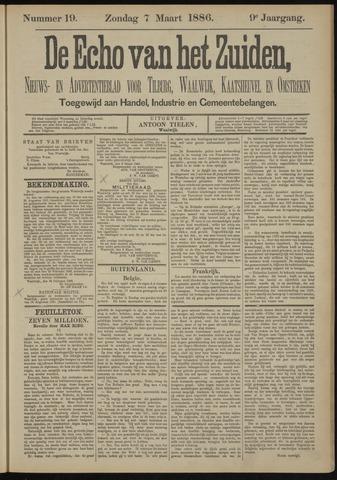 Echo van het Zuiden 1886-03-07
