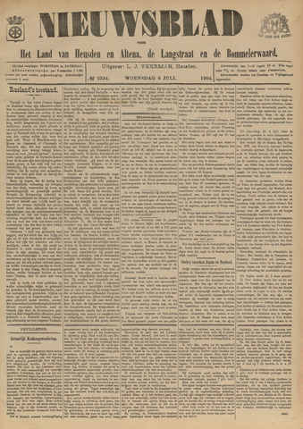 Nieuwsblad het land van Heusden en Altena de Langstraat en de Bommelerwaard 1904-07-06