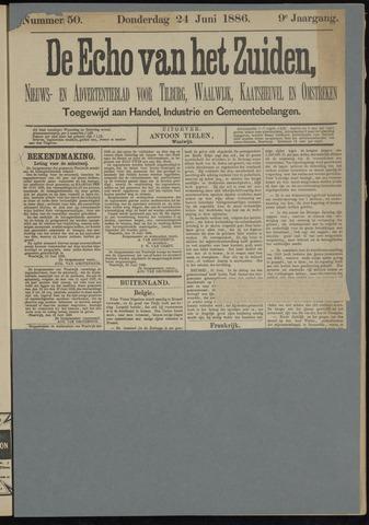 Echo van het Zuiden 1886-06-24