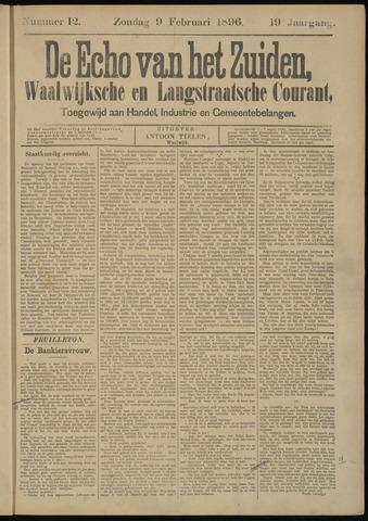 Echo van het Zuiden 1896-02-09