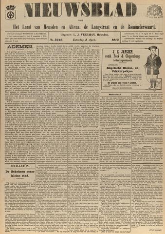Nieuwsblad het land van Heusden en Altena de Langstraat en de Bommelerwaard 1913-04-05