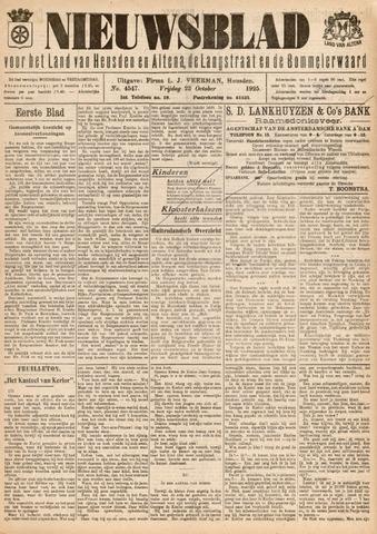 Nieuwsblad het land van Heusden en Altena de Langstraat en de Bommelerwaard 1925-10-23