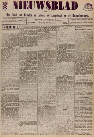 Nieuwsblad het land van Heusden en Altena de Langstraat en de Bommelerwaard 1909-11-27