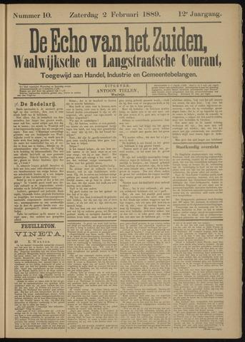 Echo van het Zuiden 1889-02-03
