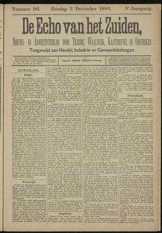 Echo van het Zuiden 1882-12-03