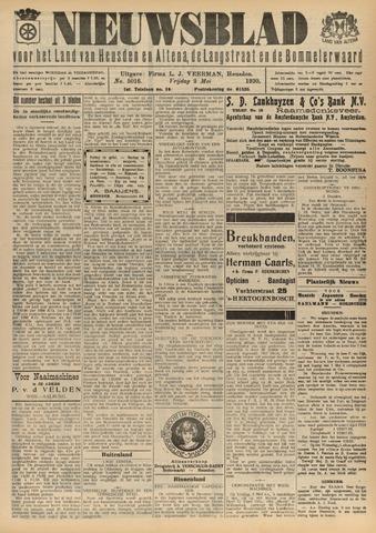 Nieuwsblad het land van Heusden en Altena de Langstraat en de Bommelerwaard 1930-05-02