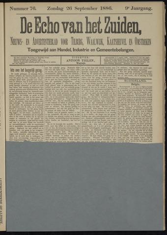 Echo van het Zuiden 1886-09-26