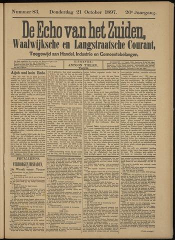Echo van het Zuiden 1897-10-24