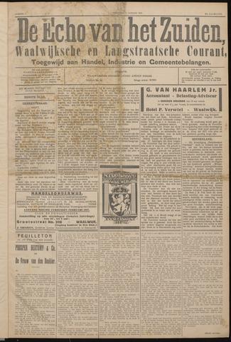 Echo van het Zuiden 1927-01-05