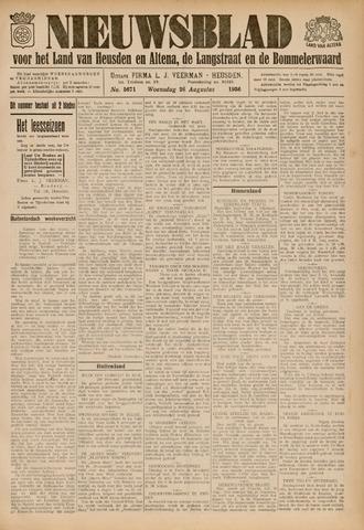 Nieuwsblad het land van Heusden en Altena de Langstraat en de Bommelerwaard 1936-08-26
