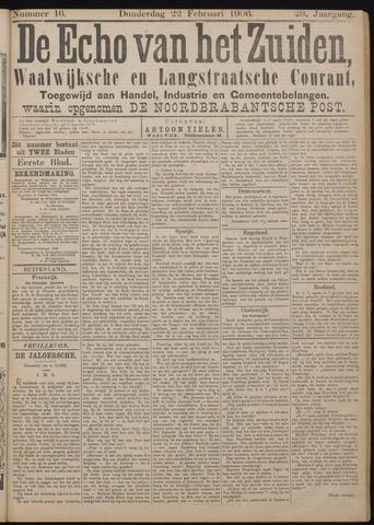 Echo van het Zuiden 1906-02-22