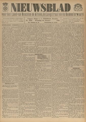 Nieuwsblad het land van Heusden en Altena de Langstraat en de Bommelerwaard 1924-02-20
