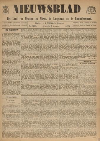 Nieuwsblad het land van Heusden en Altena de Langstraat en de Bommelerwaard 1906-01-03