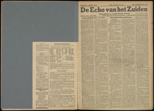 Echo van het Zuiden 1946-03-05