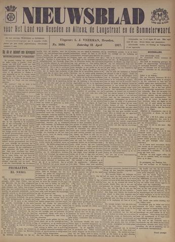 Nieuwsblad het land van Heusden en Altena de Langstraat en de Bommelerwaard 1917-04-21
