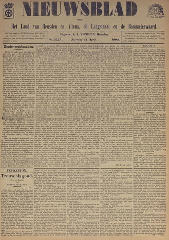 Nieuwsblad het land van Heusden en Altena de Langstraat en de Bommelerwaard 1908-04-11