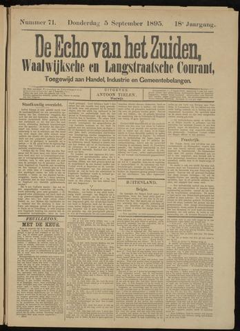 Echo van het Zuiden 1895-09-05