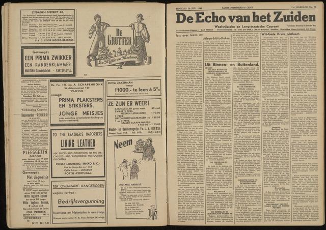 Echo van het Zuiden 1948-07-20
