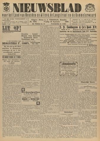 Nieuwsblad het land van Heusden en Altena de Langstraat en de Bommelerwaard 1930-09-12