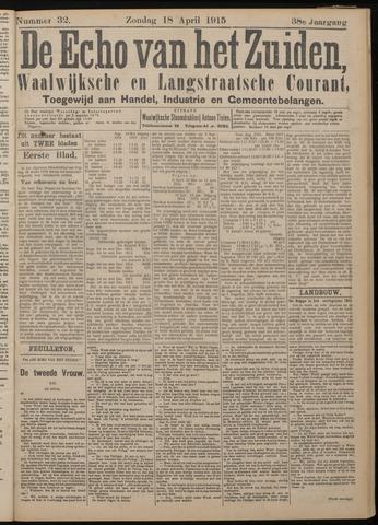 Echo van het Zuiden 1915-04-18