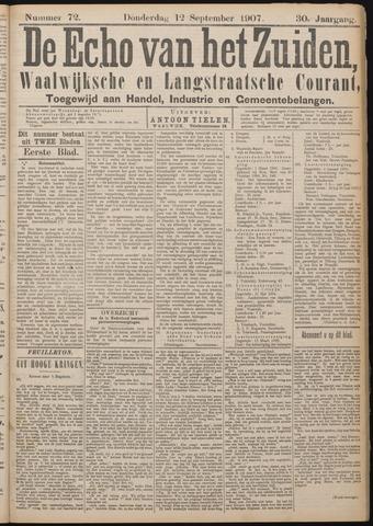 Echo van het Zuiden 1907-09-12
