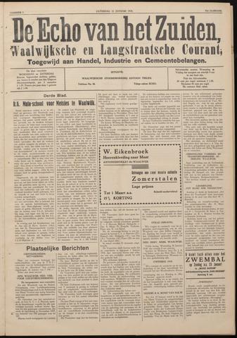 Echo van het Zuiden 1938-01-26