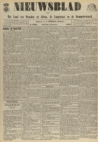 Nieuwsblad het land van Heusden en Altena de Langstraat en de Bommelerwaard 1913-01-04