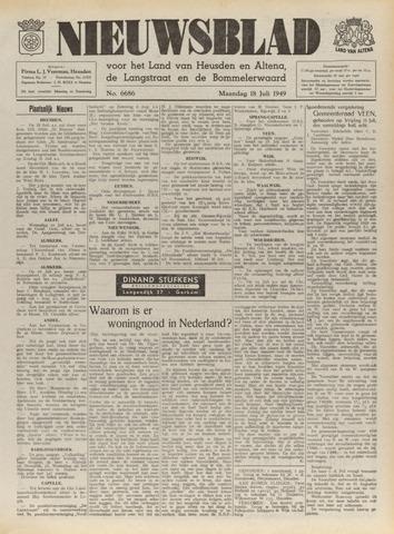 Nieuwsblad het land van Heusden en Altena de Langstraat en de Bommelerwaard 1949-07-18
