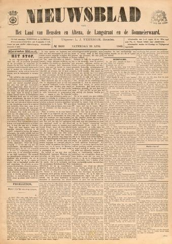Nieuwsblad het land van Heusden en Altena de Langstraat en de Bommelerwaard 1905-08-26