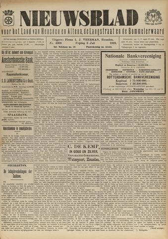 Nieuwsblad het land van Heusden en Altena de Langstraat en de Bommelerwaard 1923-07-06