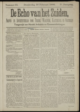 Echo van het Zuiden 1880-02-19
