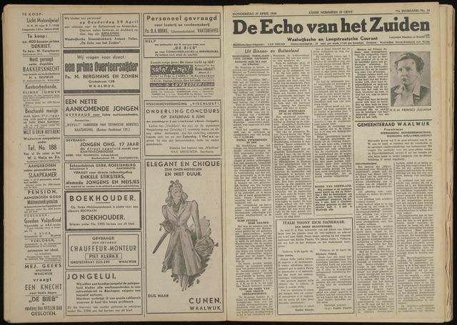 Echo van het Zuiden 1948-04-29
